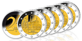 2-Euro Münzen Bundesland-Serie