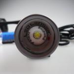 LED und Lampenkopf der LED LENSER M7RX