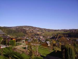 Blick auf den Aschberg in Klingenthal