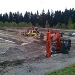 Bau des Schönecker Parkhauses