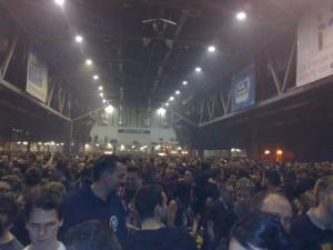 Bühne Volbeat in der Chemnitzarena