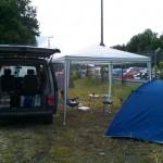 Camping mit dem Bus bei RIP 2011