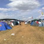 Camping-Feld