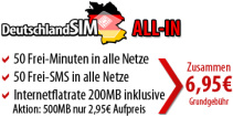 DeutschlandSIM All In iPhone Tarif