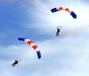 Fallschirm Gleitschirm