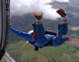 Fallschirm Sprung Fallschirmspringen