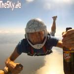 Fallschirmspringen, Benjamin Thoß, Vita Cola pur, Usedom, Skydive