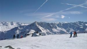 Skipiste, Winterurlaub, Gaislachkoglbahn in Sölden