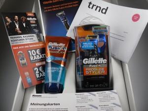 Gillette Fusion ProGlide Styler Test