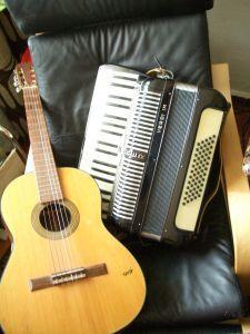 Gitarre Akkordeon