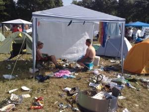 Highfield 2009 - Müllhaufen