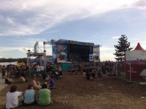 Highfield Bühne 2010 am Störmthaler See