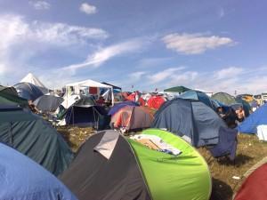 Highfield 2009 - Camping