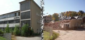 Injecta Klingenthal Abriss