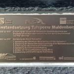 Instandsetzung Talsperre Muldenberg