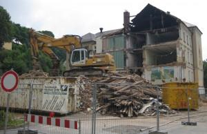 Klingenthal Gymnasium Abriss