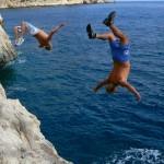 Klippenspringen auf Korsika