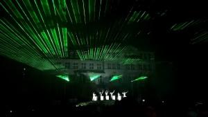 Lasershow Klingenthal 2014