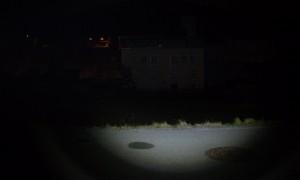 LED LENSER M7R im Halbfokus