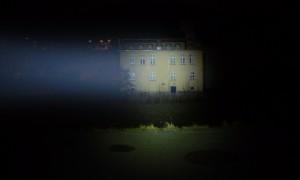 LED LENSER M7RX fokussiert