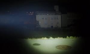 LED LENSER M7R-X im Halbfokus