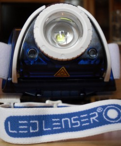 LED LENSER SEO 7R Stirnlampen-Test