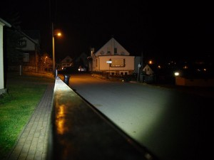 LED LENSER M7RX im Halbfokus
