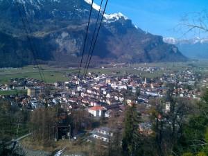 Meiringen im Berner Oberland - Schweiz