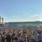 Menschenmassen, Publikum, Rocknheim