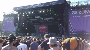 Pennywise bei Rock im Park 2014