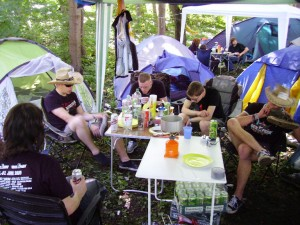 Rock im Park Camping
