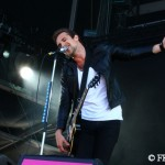 Royal Republic - Adam Grahn beim Highfield
