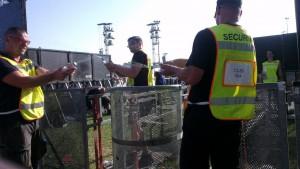 Security bei RiP 2014 - Wasserschlacht