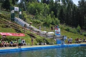 Wasser Skisprung WM