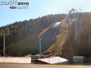 Vogtland-Arena-Bild vom Oktober 2010