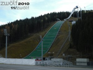 Vogtlandarena in Klingenthal am 14. November 2010