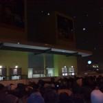 Warteschlange vor dem Rammsteinkonzert