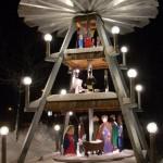 Weihnachtspyramide in Tannenbergsthal