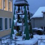 Weihnachtspyramide in Werda