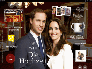 William & Kate im Appazine
