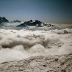 Wolkenspiel über den Pisten