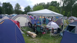 Zeltplatz-Camping bei Rock im Park 2013